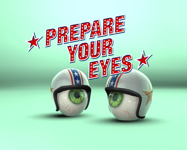 3d IMAX eyeballs