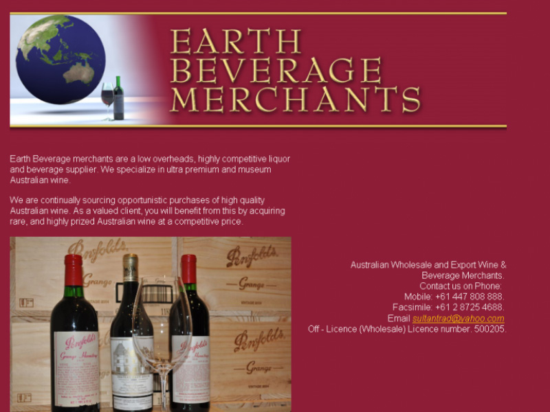 Earth Beverage Merchants