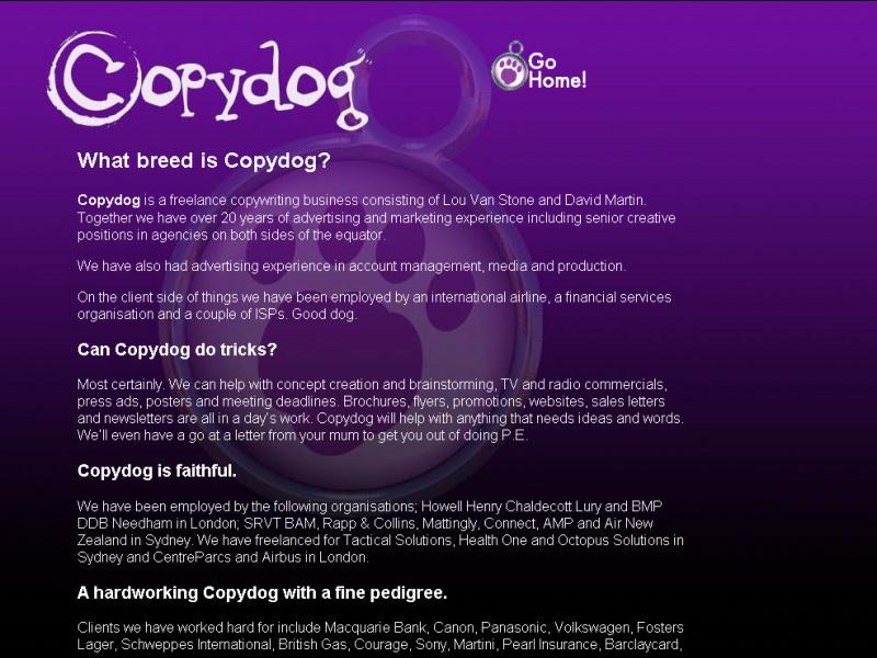 Copydog- About
