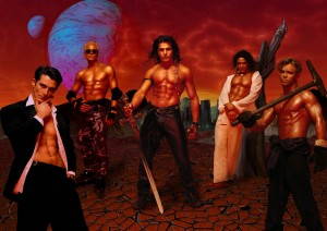 poster of Hotshots dance troop
